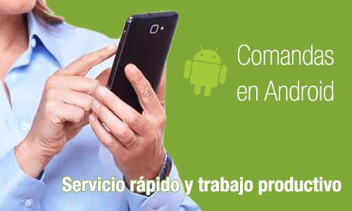 Toma Comandas en Android