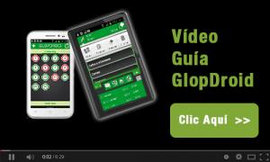 video guía comandas android