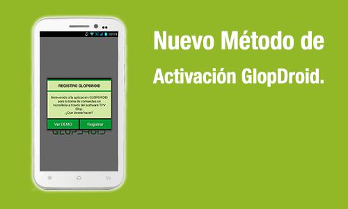 activación glopdroid