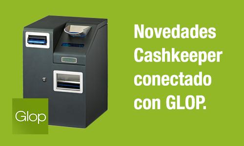 novedades cajón Cashkeeper con Glop