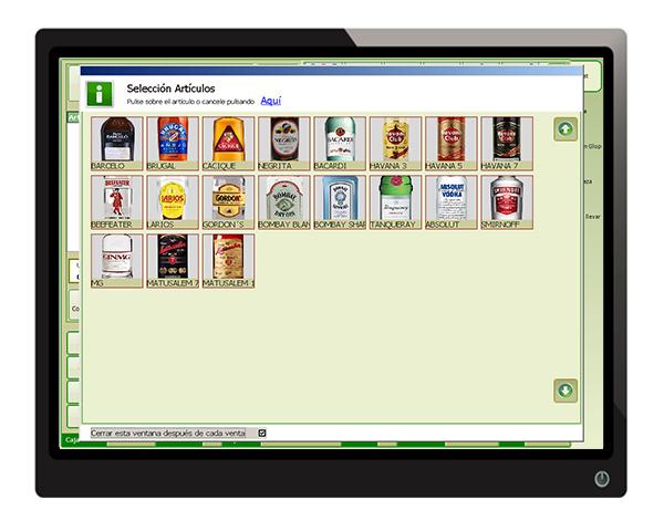 gestion articulos software glop