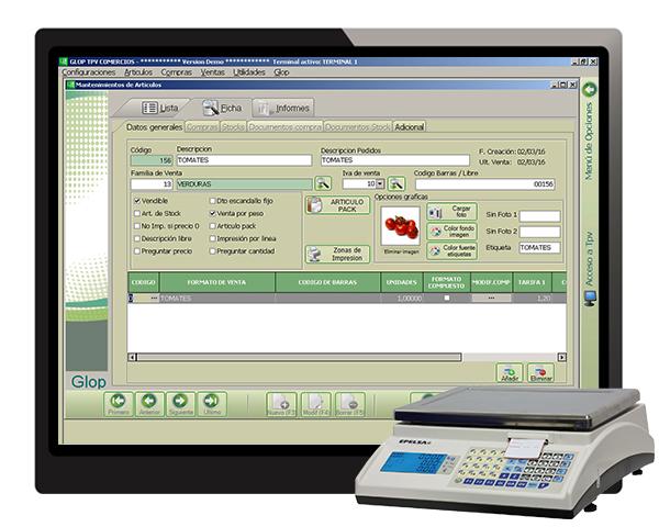 software tpv con balanza