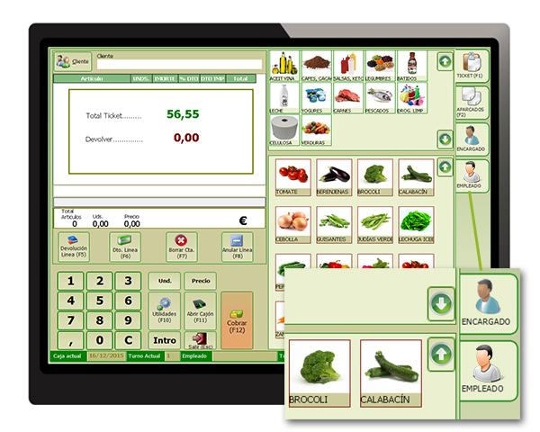 software tpv tactil supermercado
