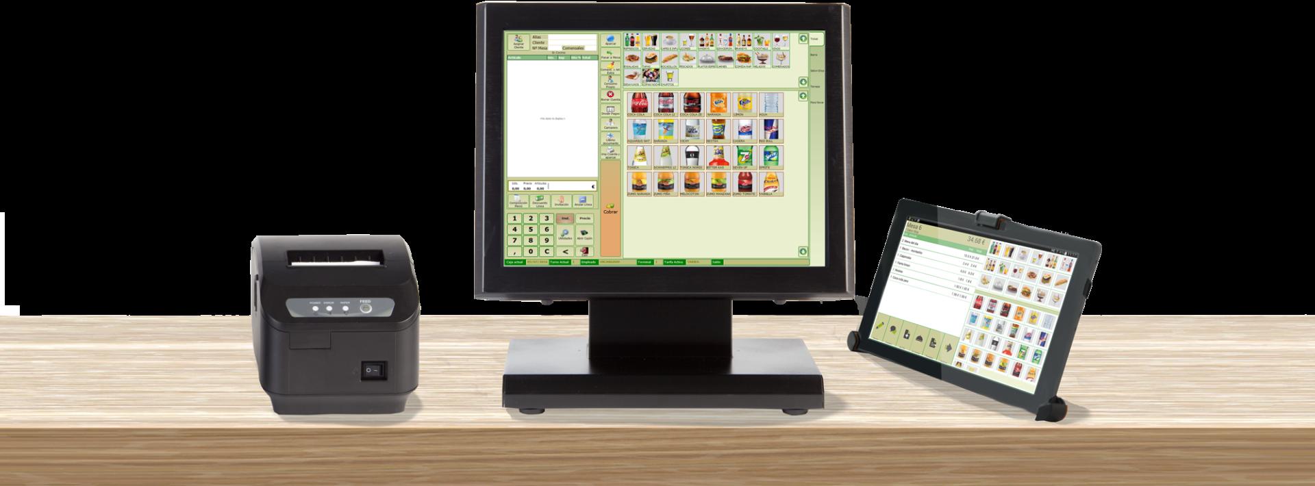 pantalla glop software tpv